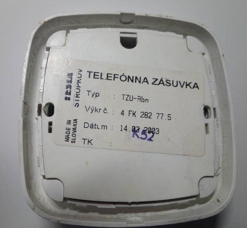telefónna zásuvka - Obrázok č. 4