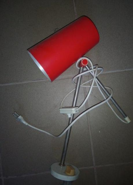 Retro lampa - Obrázok č. 1