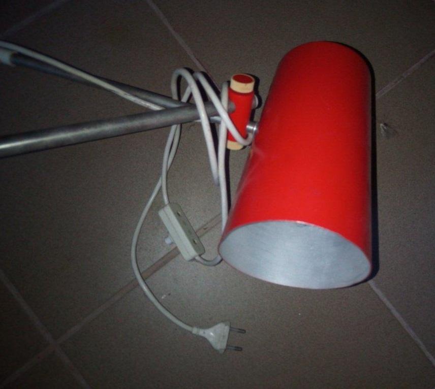 Retro lampa - Obrázok č. 2