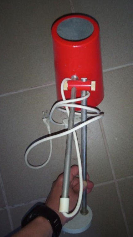 Retro lampa - Obrázok č. 3