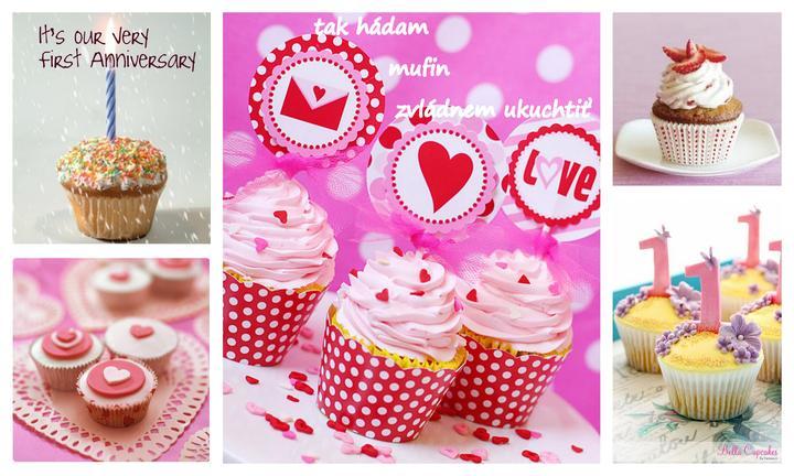 anniversary Gift Ideas❣ - recepty: varinata 1  http://varecha.pravda.sk/recepty/muffiny-fotorecept/9685-recept.html, varianta 2: http://www.mimibazar.sk/recept.php?id=10637
