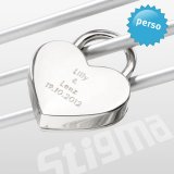 anniversary Gift Ideas❣ - http://www.design-3000.com/en/Stigma/Personalized+Heart+Padlock+Corazon.html