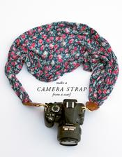 DIY: http://www.lauraashleyusa.com/make-and-do-camera-strap-from-a-laura-ashley-scarf