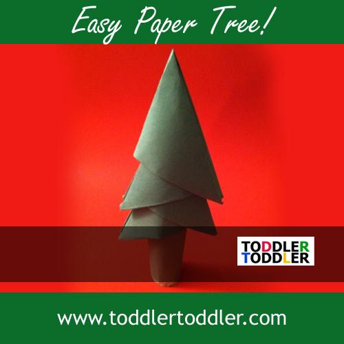 ☃ .:X:.mas ❄ - DIY: http://www.toddlertoddler.com/toddler-activities-build-your-own-paper-tree.htm
