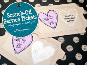 DIY: http://www.thedatingdivas.com/just-the-two-of-us/secret-service-tickets/