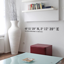 👈naSTEnu - http://www.spincollective.co.uk/acatalog/Personalised-Coordinates-Wall-Sticker.html