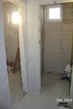 WC a kúpeľka z chodby