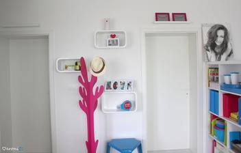 označenie miestností - zatiaľ iba spálňa