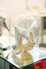 Display your wedding shoes.