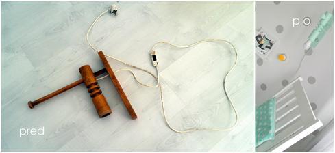lampa od babinky - je dnes lampa v izbicke