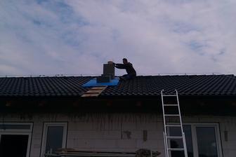 Konečne cez strechu