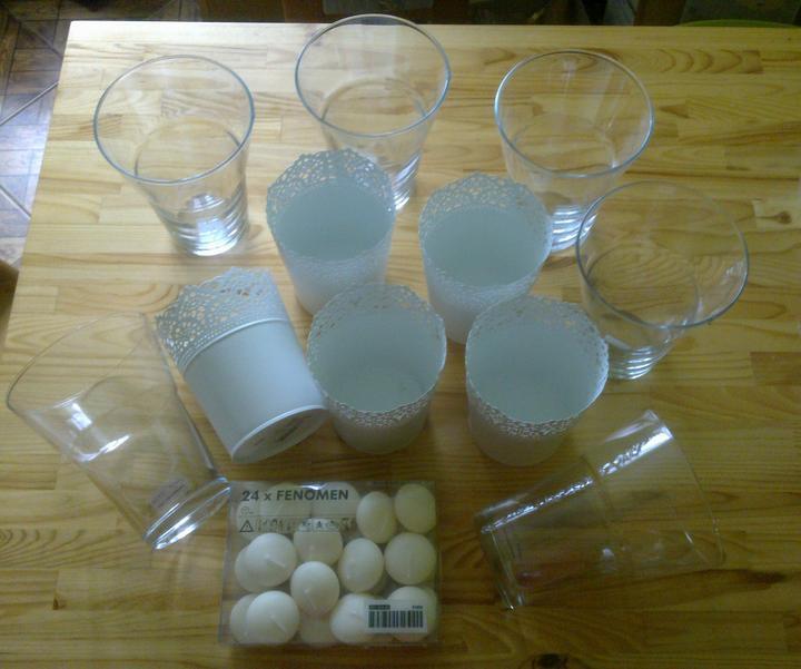 Co máme nebo nutně potřebujeme - dnešní nákup v Ikee-bude na stolech...