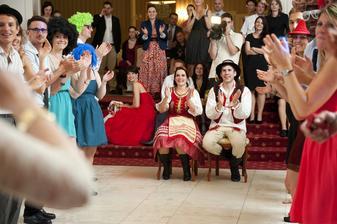 a potom pre nás kamaráti urobili program na Get Lucky:))))
