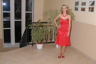 Moje šaty na redovy