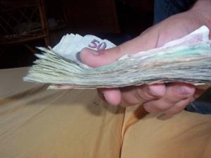 vybrané penízky pěkně pohromadě:-)