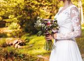 svadobné šaty 34 , 36