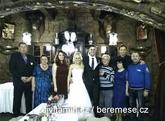 Svatba Veru a Mišan - Hrad Červený Újezd