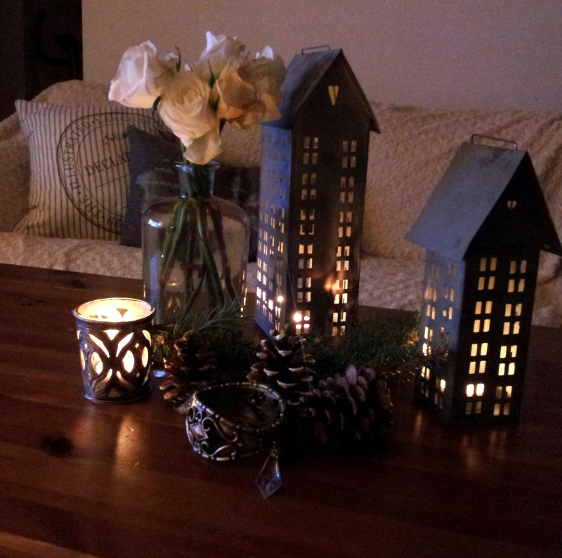 Home sweet home...... - ...toľko som snívala o týchto plechových domčekoch, že ma môj drahý už nemohol počúvať a radšej mi nejaké zadovážil :)