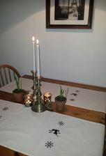 ..handmade vianočné obrusy...