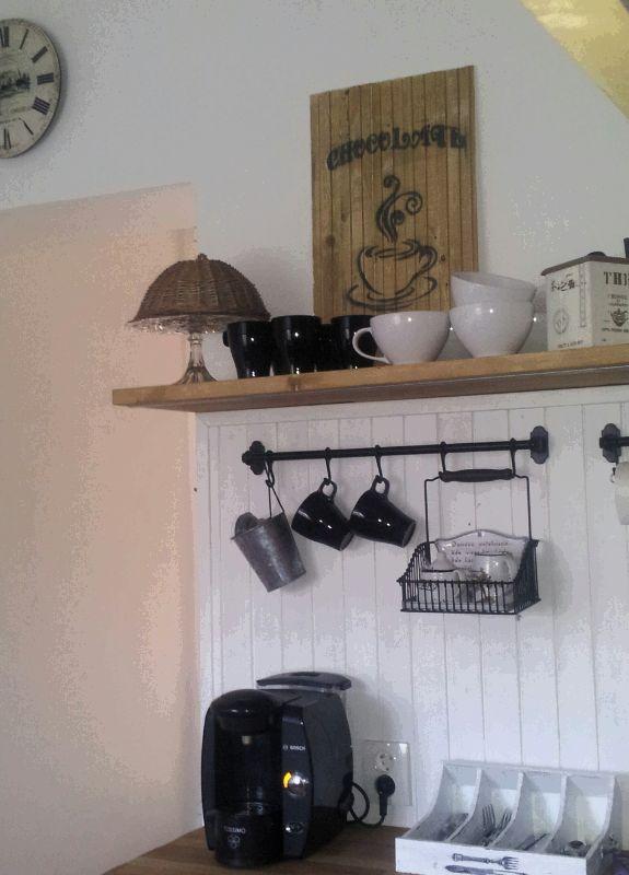 ..kuchyňa podľa mojich predstáv... - ...môj kávičkový kútik v kuchyni...