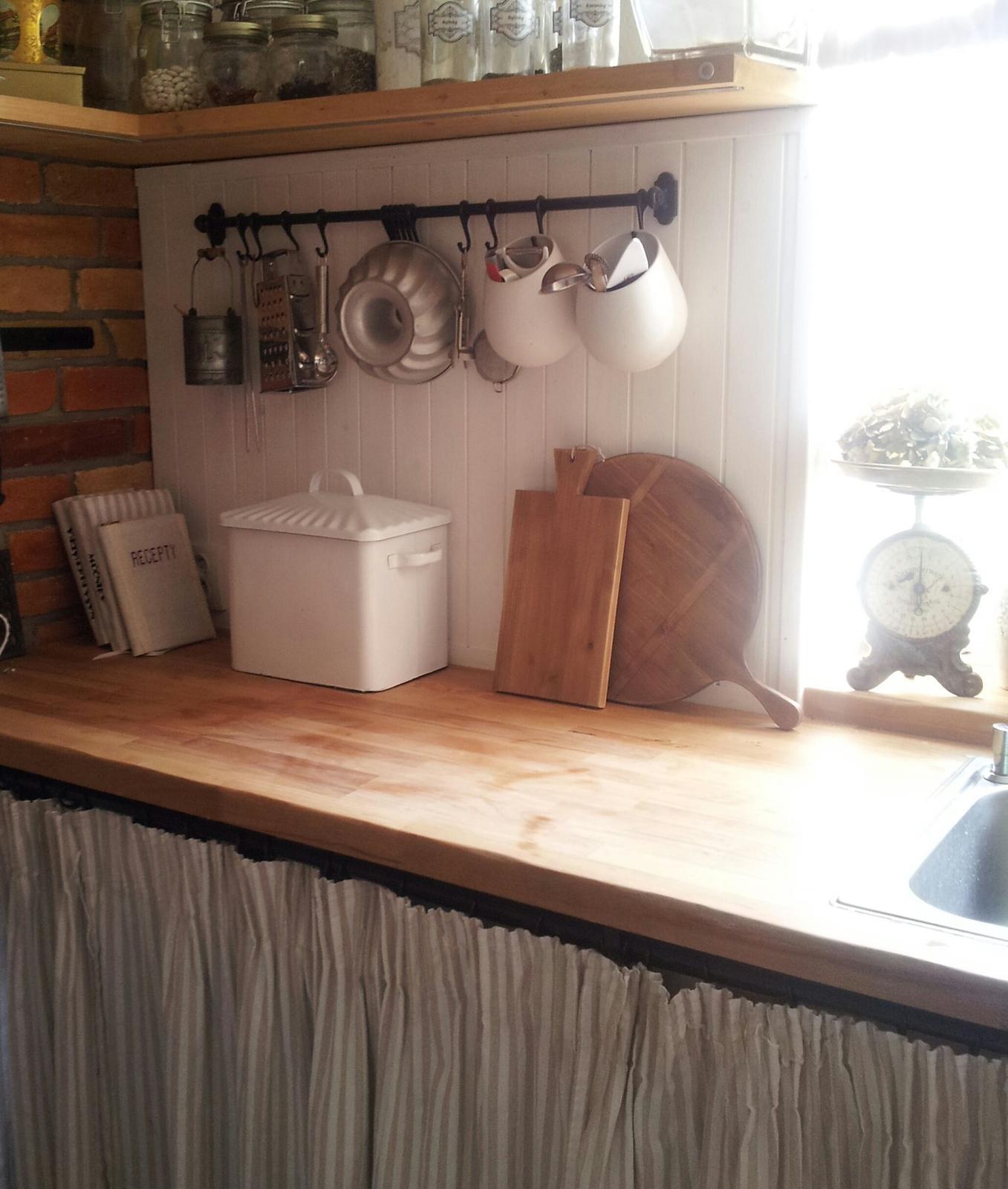 ..kuchyňa podľa mojich predstáv... - ...budú na čestnom a dobre viditeľnom mieste :-)