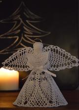 ...háčkovaný anjelik od mojej šikovnej maminky :-)
