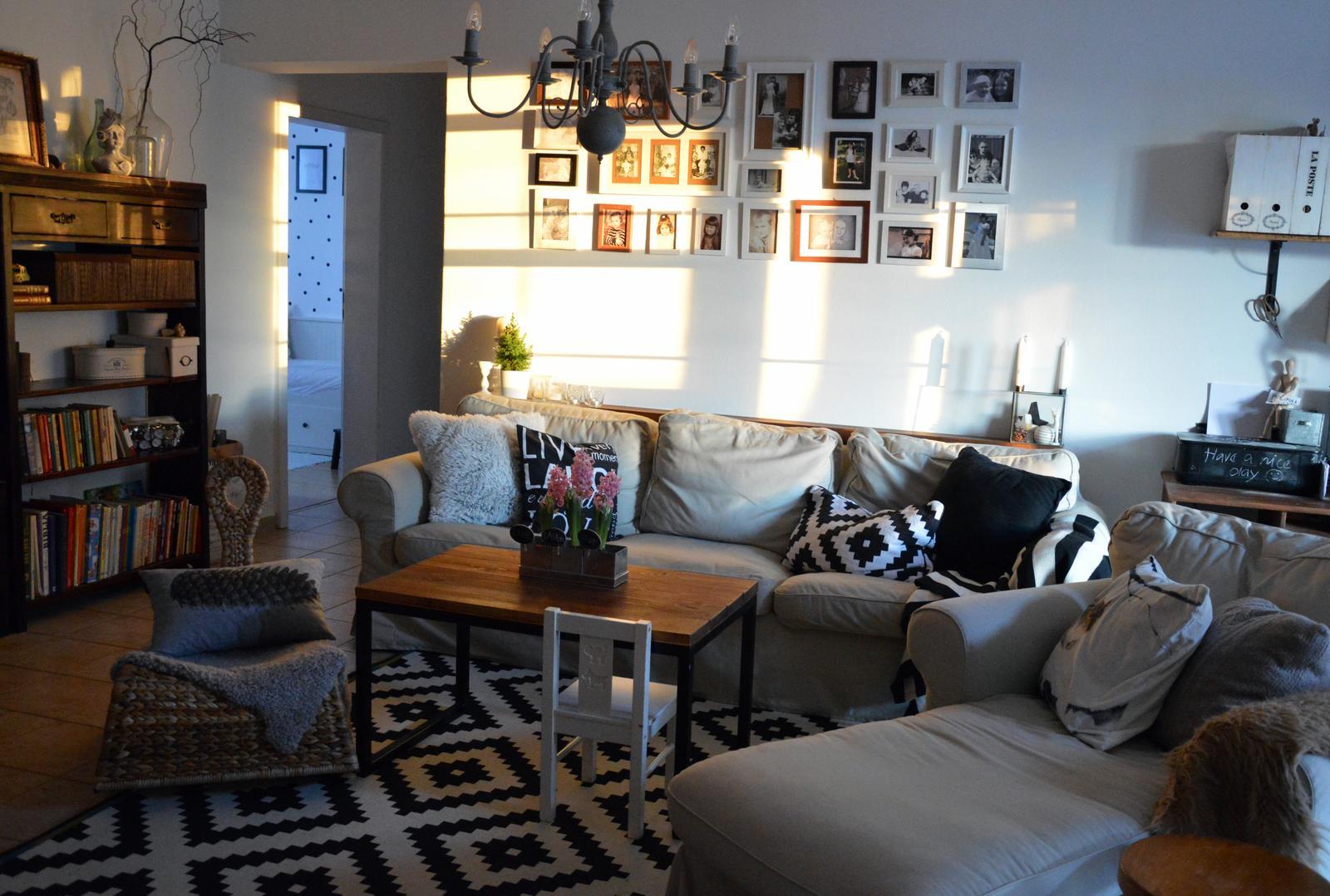 Home sweet home...... - ...takéto krásne slniečko ma čakalo dnes doma :-)