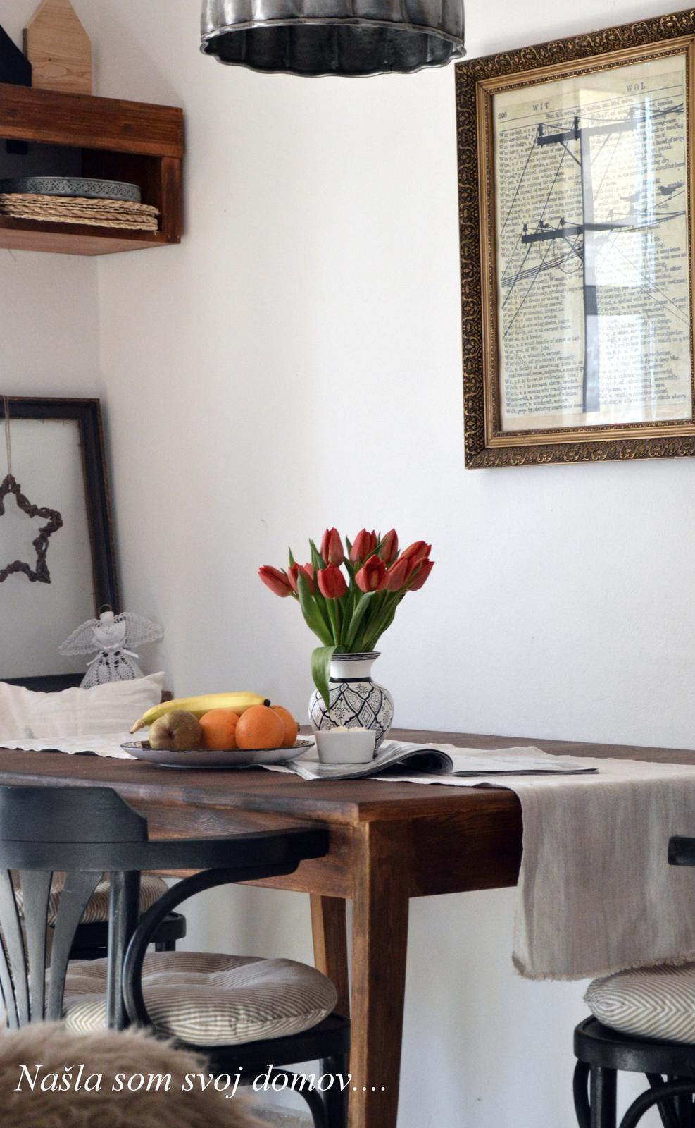Home sweet home...... - ...tulipánová nedeľa.....