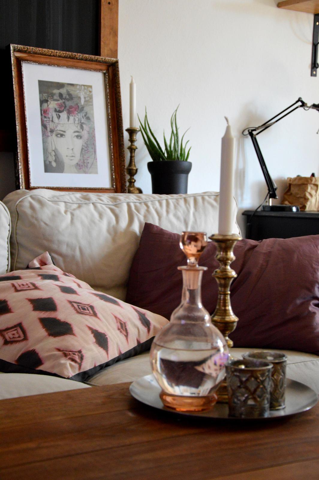 Home sweet home...... - ...jeseň bude u nás s nádychom orientu....