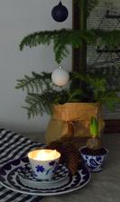 ...príprava na modré Vianoce :-)