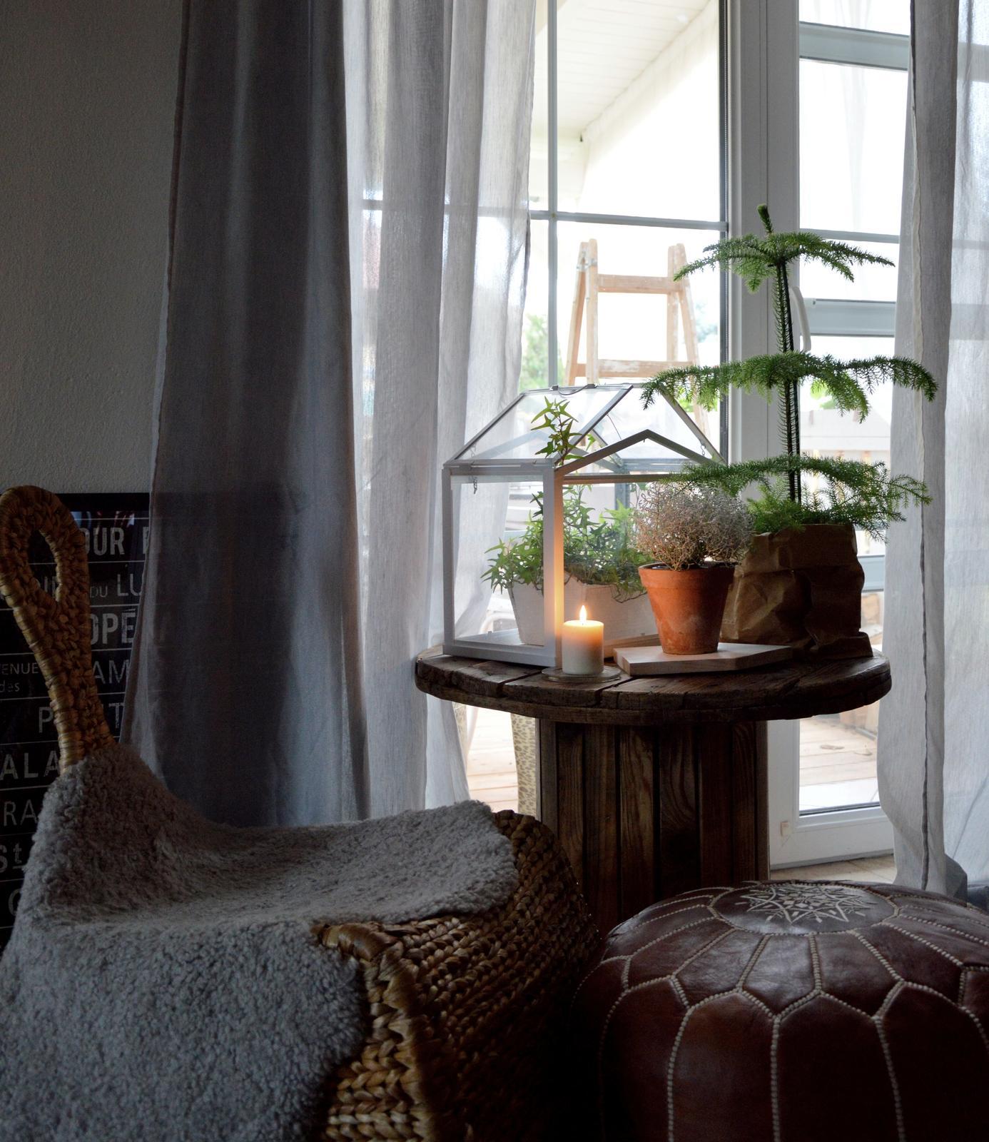 Home sweet home...... - ...na terasu pozeráme už len spoza okna :-)