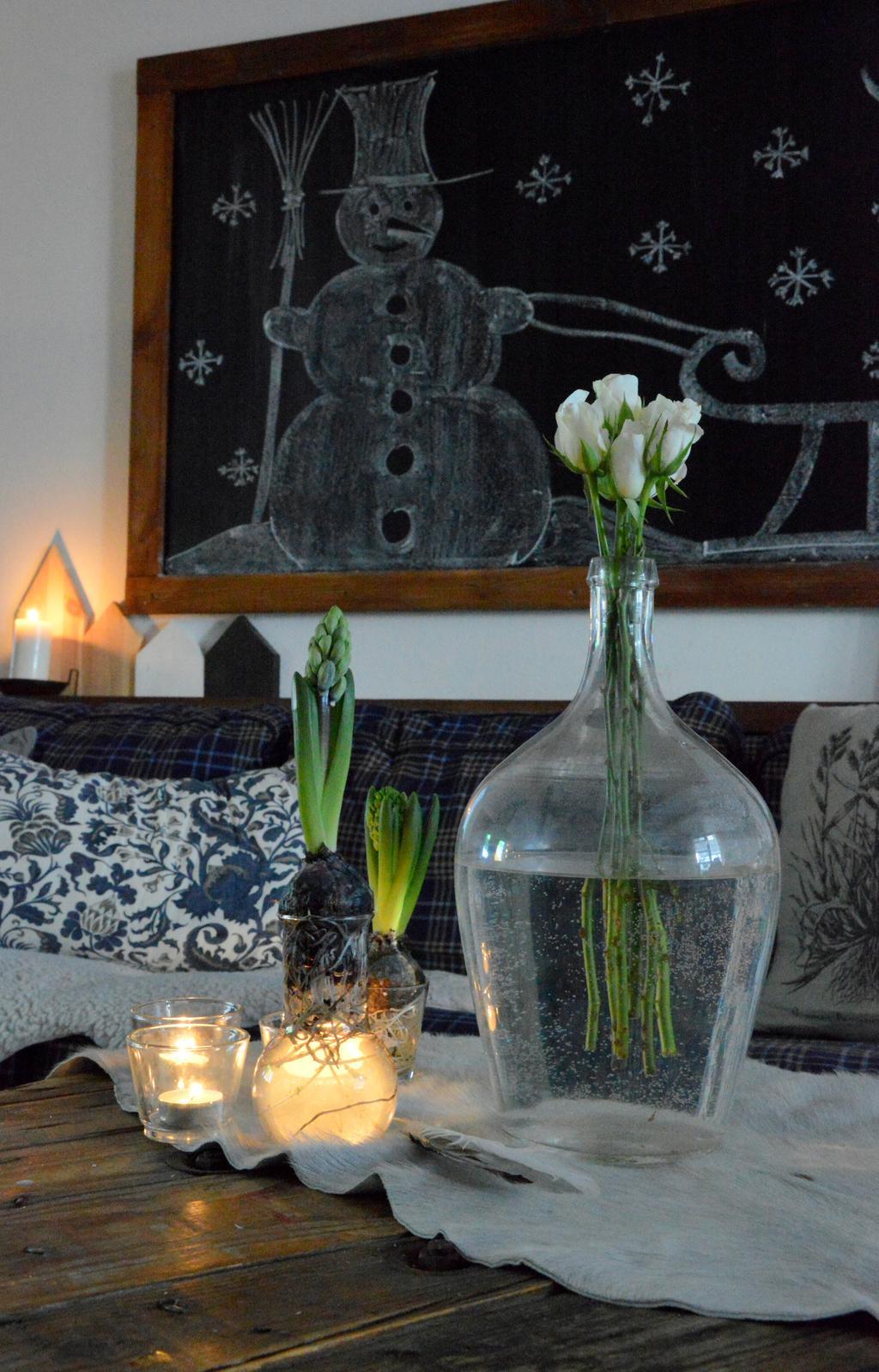 Home sweet home...... - ...a dnes už len jarno-zimne...ja by som radšej jarne ale zima práve teraz začína vystrkovať rožky :-D
