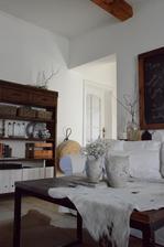 ... v obývačke som veľkonočnú výzdobu vyriešila ešte jednoduchšie....
