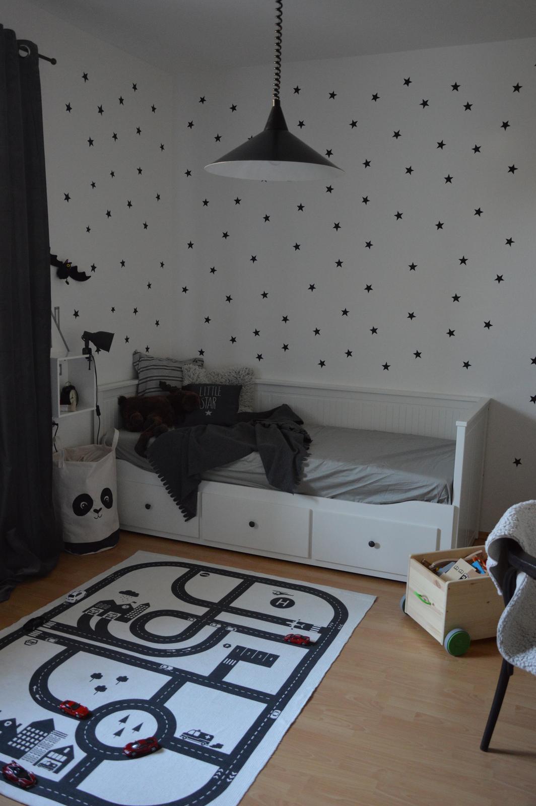 ...premena detskej izby na čierno - bielu..... - Obrázok č. 1