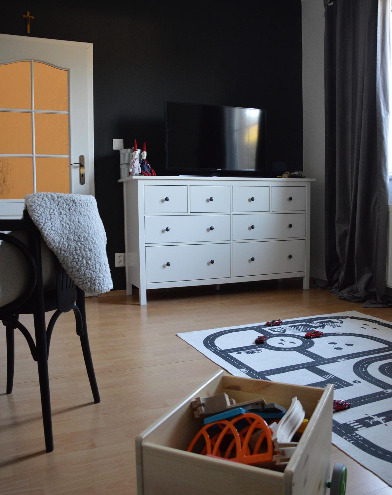 ...premena detskej izby na čierno - bielu..... - Obrázok č. 3