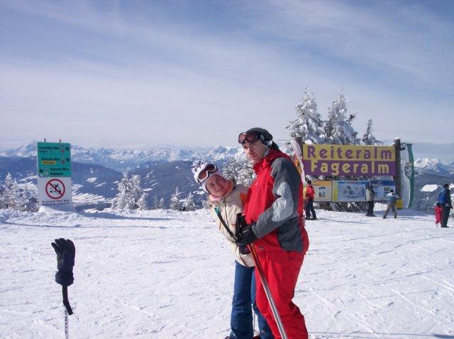 M & W - Naše pripravy na deň D - My dvaja na lyžovačke v Alpách