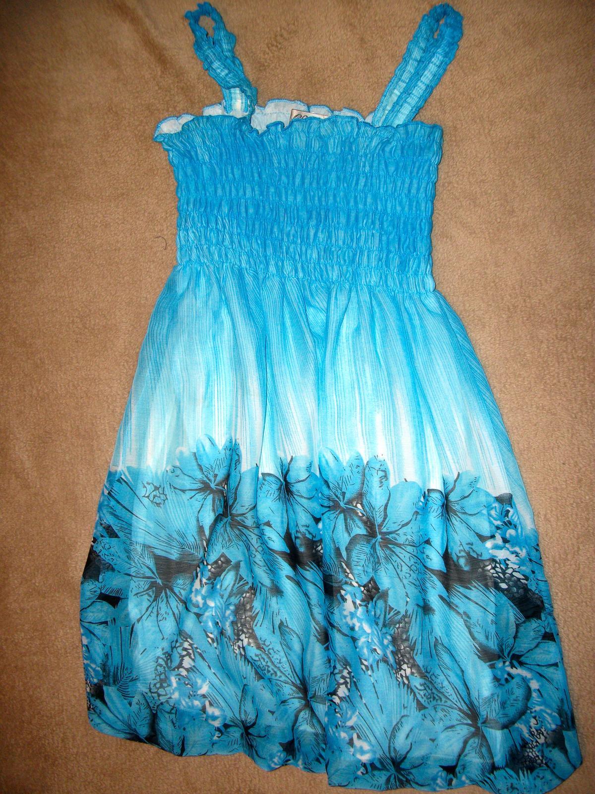 šaty na 9-10 rokov - Obrázok č. 1
