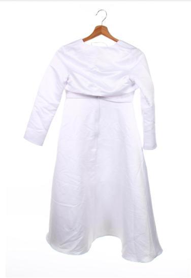 šaty veľ.  140 aj na prvé svate primanie - Obrázok č. 2