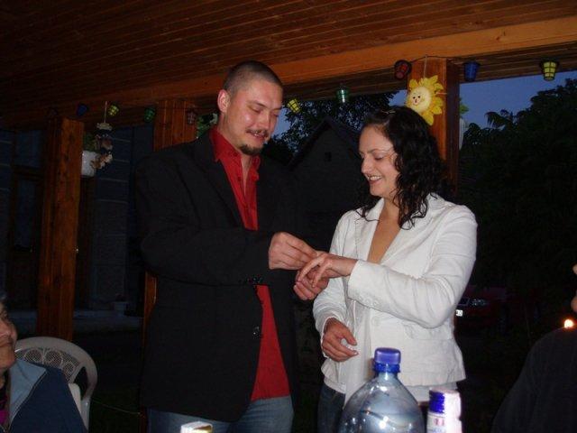 Tina a Peco - Moje narodeniny a zásnuby 6.6.2006