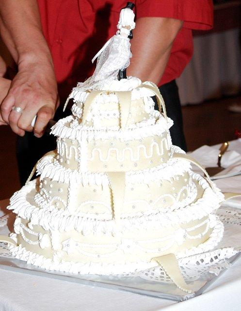 Tina a Peco - naša torta
