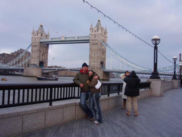 Tina a Peco - v Londýne