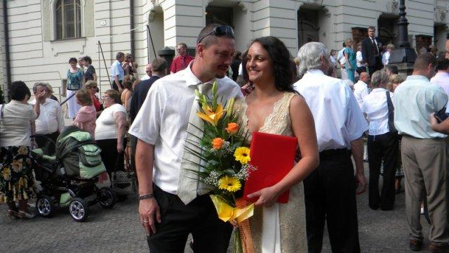 Tina a Peco - Moje Mgr. promócie