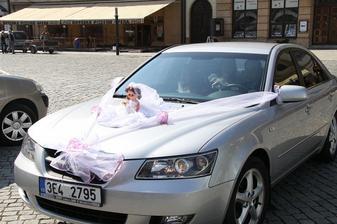 Příjezd nevěsty.