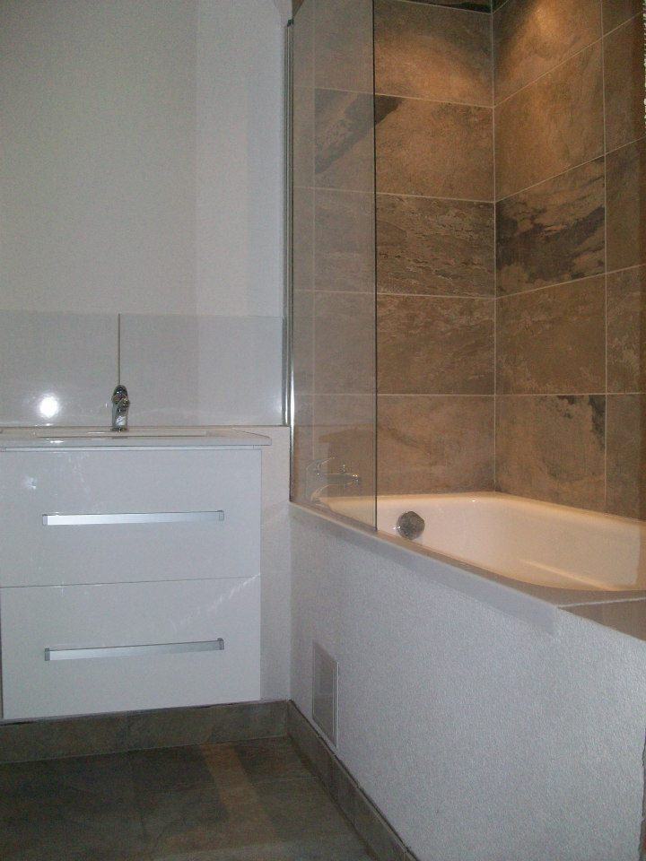 Rekonštrukcia kúpeľne - Skoro finálna verzia už len pripevniť zrkadlo a sprchu