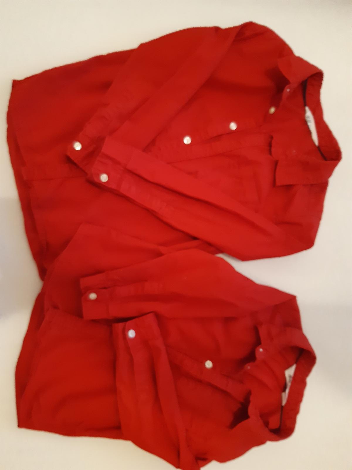 Chlapčenská košeľa HM 104 a 122 - Obrázok č. 1