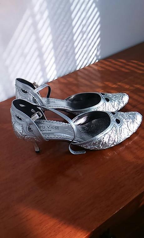 2x obuté spoločenské topánočky - v.40 - Obrázok č. 1