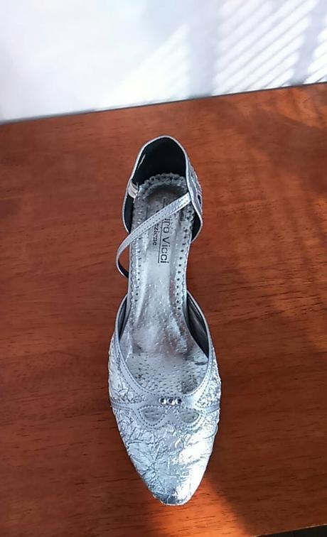 2x obuté spoločenské topánočky - v.40 - Obrázok č. 2