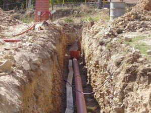 voda a kanalizace