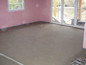 finální betonová podlaha