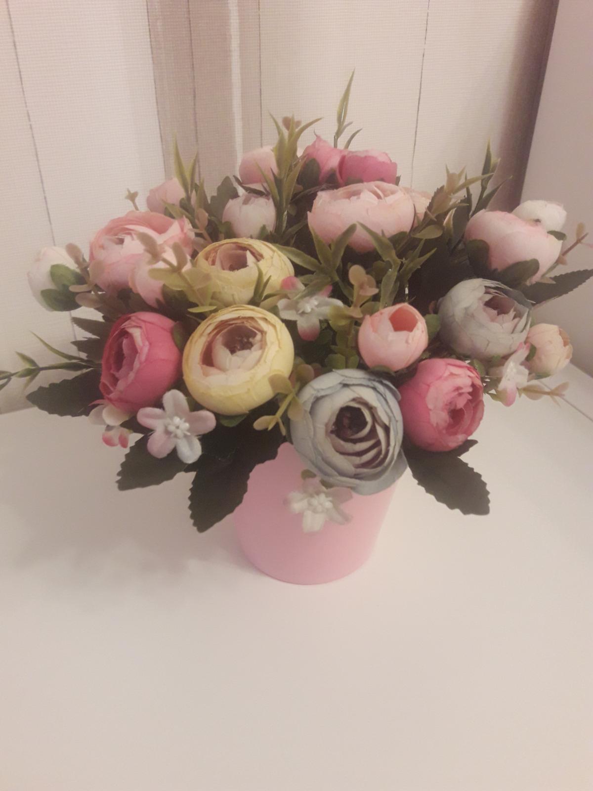 Kvety vo vaze - Obrázok č. 1